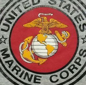 USMC Marine Corps EGA Sweatshirt shirt M military